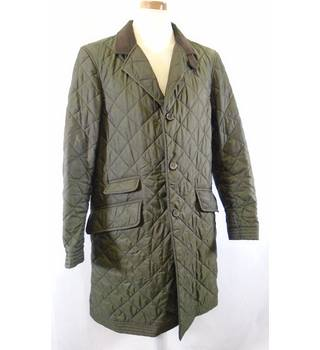 Dantendorfer - Size: 48 - Olive Green - Quilted Coat