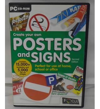 CREATE YOUR OWN POSTERS AND SIGNS