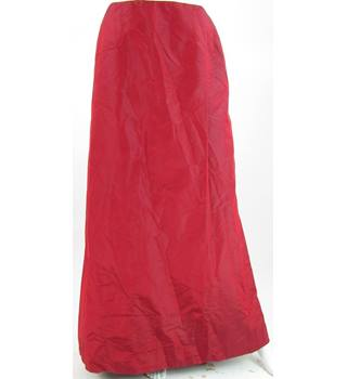 Monsoon Size 12 Fire Engine Red Skirt