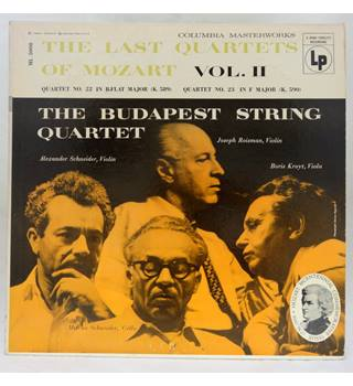 The Last Quartets of Mozart Vol. II