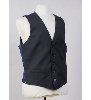 "M&S Collection BNWT charcoal wool lycra blend waistcoat size M 38-40"" M&S Marks & Spencer - Size: M- grey"