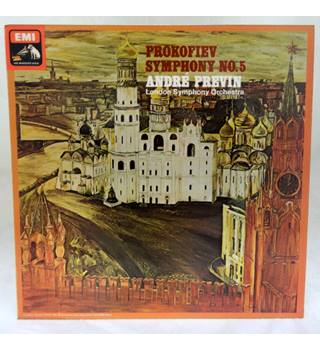 Prokofiev Symphony No. 5 conducted by Andre Previn