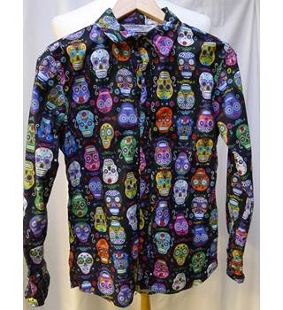 Men's Shirt Boy Parker by Get Cutie Size: S - Multi-coloured - Long sleeved