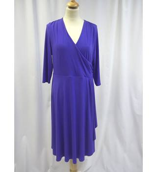 Windsmoor - Size: 14 - Purple - Knee length dress