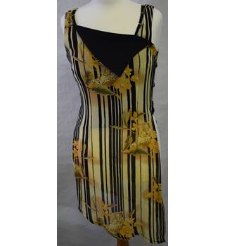 Joseph Ribkoff 2 piece dress and long gilet size 10 Joseph Ribkoff - Size: 10 - Multi-coloured - Knee length dress