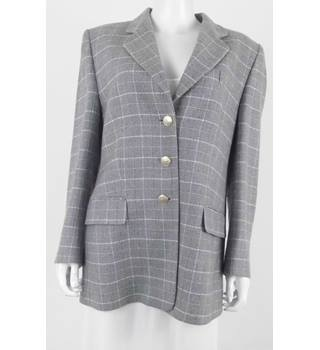 Basler Vintage 16 Grey Pure Wool Jacket