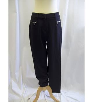 Robetti - Size: 12 - Black - Trousers