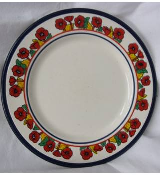 Kiln Craft Poppies side Plate