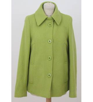 M&S Marks & Spencer - Size: 10 - Green Casual Coat