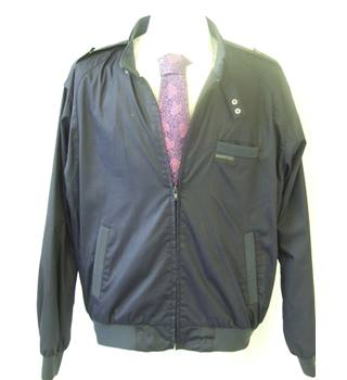 50% OFF SALE Members Only Men's Light Navy Jacket Members Only - Size: L - Blue - Jacket