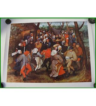 Athena poster - The Wedding Dance - ), Brueghel, P. the Younger