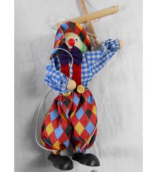 Bino Marionette/Puppet Clown Unknown