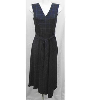 BNWOT M&S navy plaid dress Size 8