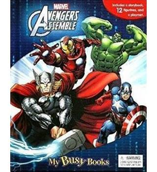 Marvel Avengers My Busy Book