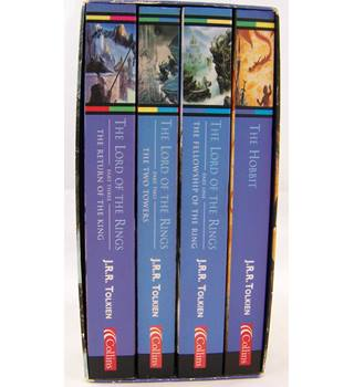 The Lord of the Rings and The Hobbit boxed set