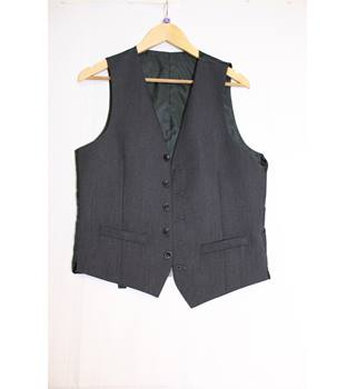 BNWT M&S 'Limited Edition' Charcoal Waistcoat Small M&S Marks & Spencer - Size: S - Black - Waistcoat