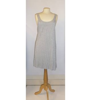 OASIS SILVER KNITTED DRESS