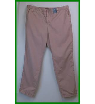 BNWT - M&S Marks & Spencer - Size: XL - Pink - Trousers