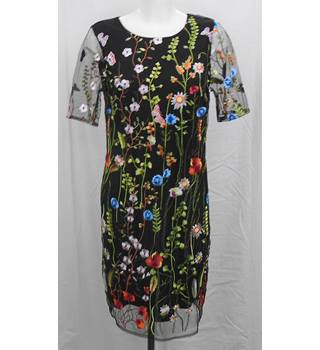 BNWOT M&S multicoloured dress Size 10R