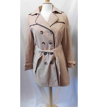 Fashion Ladies - Size: XL - Beige - Trench Coat