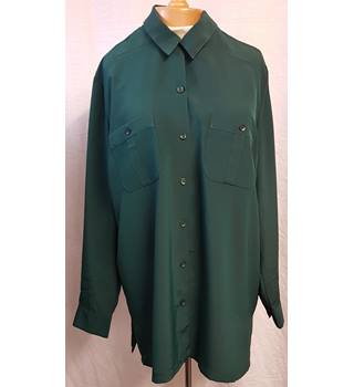 St. Michael - Size: 18 - Green - Blouse