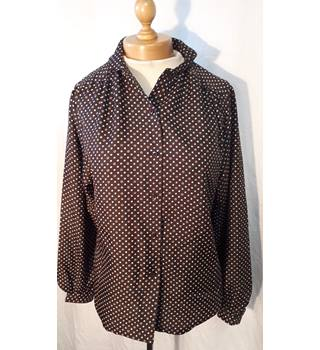 Unbranded - Size: M - Brown - Blouse