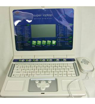 Super Laptop GW-1001 Polsko Angielski - Polish Childs Electronic Toy