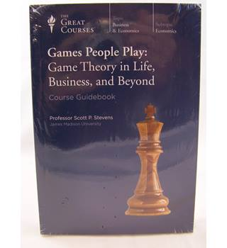The Great Courses. Games People Play: Game Theory in Life, Business and Beyond.