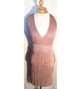 WalG - Size: 8 - Pink - Halter-neck dress