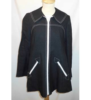 Feminella - Size: M - Black - Casual jacket / coat
