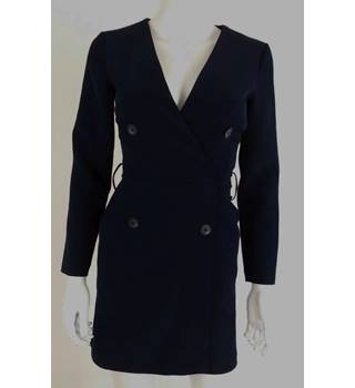 ASOS Size 4 Navy Blue Playsuit
