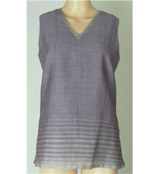 NITYA - Size: 10 - Purple - Sleeveless top