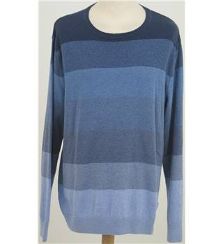 NWOT M&S Collection size: L blue striped jumper
