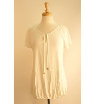 George BNWT White Blouse Size 10 Geotge - Size: 10 - White - Blouse