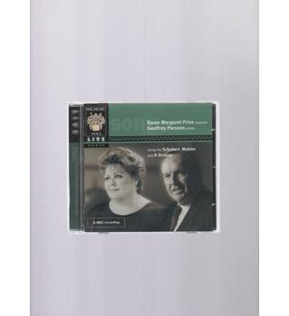Songs by Schubert, Mahler and R. Strauss Dame Margaret Price Geoffrey Parsons