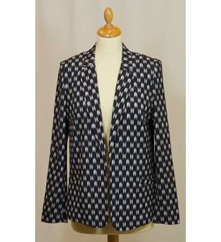 H&M - Size: 12 Black and White patterned Jacket