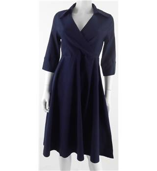 BNWT Miusol - Size M - Dark Blue with front bust slit dress