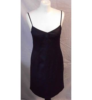 Next - Size: 8 - Black - Knee length party dress