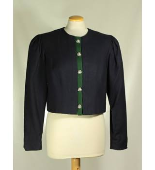 Vintage 1980's Continental Collection - Size: M - Women's Blue - Jacket