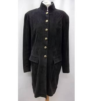 Dubarry - Size: 40 - Black - Casual suede leather coat