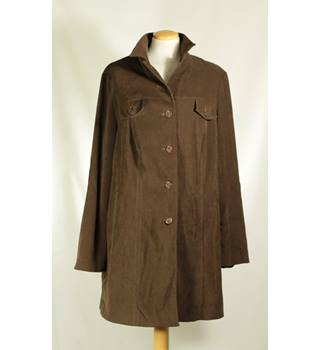 Unbranded - Size: 18 - Brown - Women's Casual jacket / coat