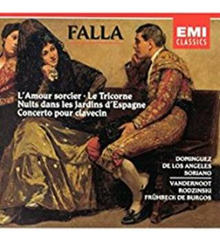 FALLA Vocal and Orchestral Works