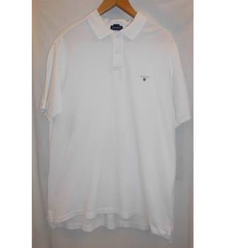 Gant - White - Short sleeved T-shirt