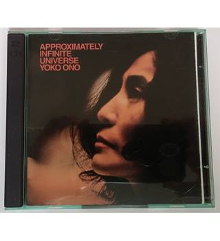 Yoko Ono With Plastic Ono Band* ‎– Approximately Infinite Universe CD pair