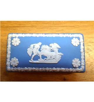Blue Wedgwood Trinket Box