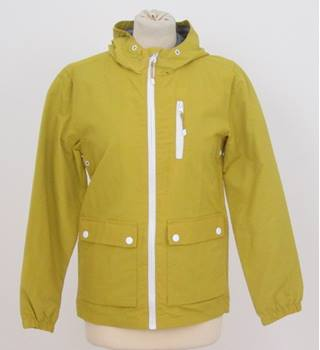 NWOT M&S Kids - size: 11 - 12 years, mustard yellow raincoat
