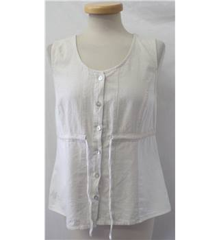 Unbranded - Size: 12 - Beige - Sleeveless Top