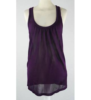 Ted Baker - Size S (Ted Baker size 1)- Purple  Sheer Top