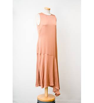 Women's Dress - Marks & Spencer - Size: 10 - Bronze / Brown