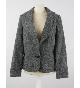 Jaeger Size 8 grey virgin wool jacket